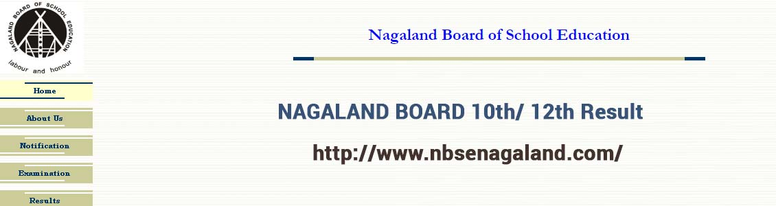 Nagaland Board of School Education (NBSE) image