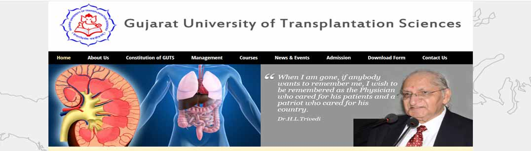 Gujarat University of Transplantation Sciences