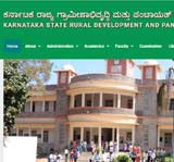 Karnataka State Rural Development and Panchayat Raj University logo