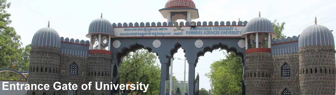 KarnatakaVeterinary, Animal & Fisheries ScienceUniversity