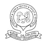 Kuvempu University logo