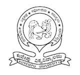 KuvempuUniversity logo