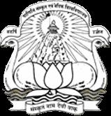 Maharshi Panini Sanskrit University logo