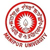 Manipur University logo