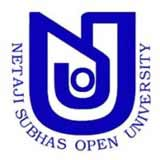 Netaji Subhas Open University logo