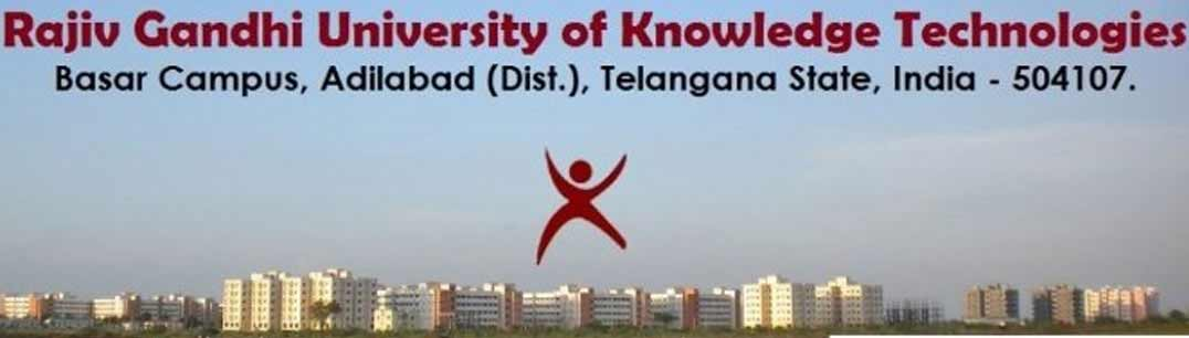 Rajiv Gandhi University of Knowledge Technology
