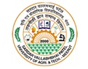 Sardar Vallabhbhai Patel University of Agriculture and Technology University logo
