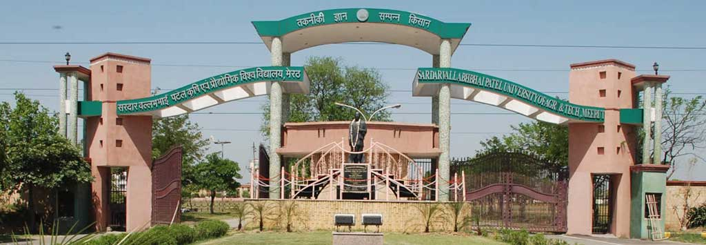 Sardar Vallabhbhai Patel University of Agriculture and Technology University