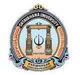 Satavahana University logo