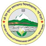 Sri Dev Suman Uttarakhand University logo