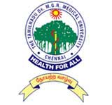 Tamil Nadu Dr. MGR Medical University logo