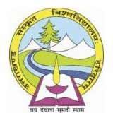 Uttarakhand Sanskrit University logo