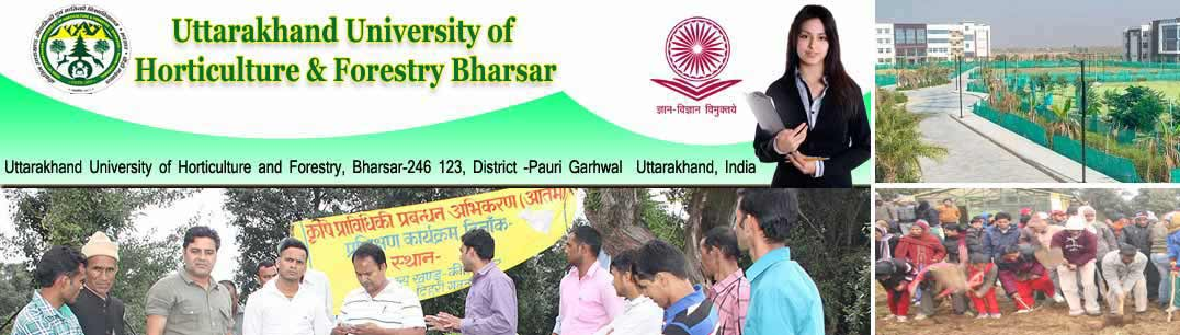 Veer Chandra Singh Garhwali Uttarakhand University of Horticulture and Forestry