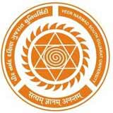 Veer Narmad South Gujarat University logo