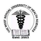 West Bengal University of Health Sciences logo
