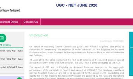 UGC NET Registrations