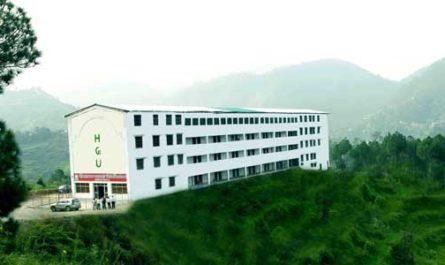 Himalayan Garhwal University Uttarakhand